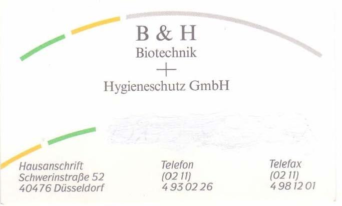 B & H Biotechnik