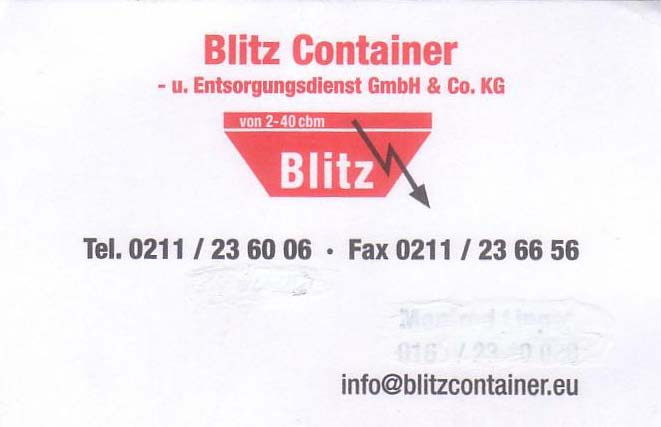 Containerservice Blitz
