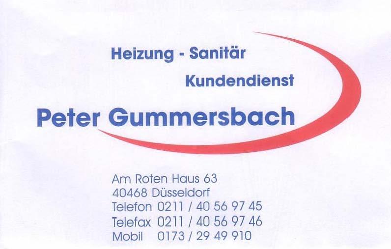 Sanitärfachbetrieb Peter Gummersbach